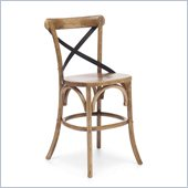 Zuo Union Square Counter Chair in Natural