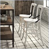 Zuo Union Square Counter Chair in White