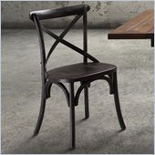 Zuo Union Square Chair in Black (Set of 2)
