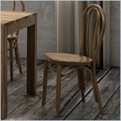 Zuo Nob Hill Chair in Natural (Set of 2)