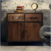 Zuo Fort Mason Cabinet in Distressed Natural