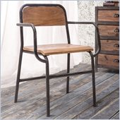 Zuo West Portal Chair in Distressed Natural