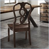 Zuo Tenderloin Chair in Distressed Natural (Set of 2)