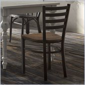 Zuo Glen Park Chair in Distressed Natural