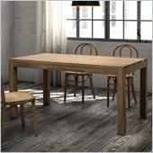 Zuo Fillmore Dining Table in Distressed Natural Finish