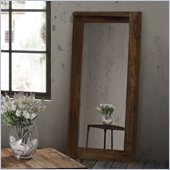 Zuo Vistacion Mirror in Distressed Natural