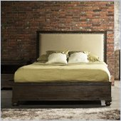 Zuo The City Bed in Dark Brown Finish