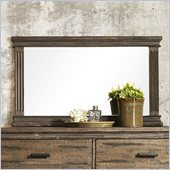 Zuo The City Mirror in Dark Brown