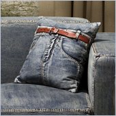Zuo Jean Cushion Blue Denim with Front Jean