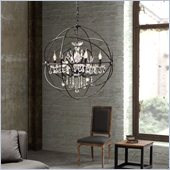 Zuo Diamond Ceiling Lamp in Rust 