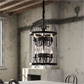 Zuo Canary Ceiling Lamp in Rust