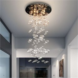 Zuo Inertia Ceiling Lamp in Clear