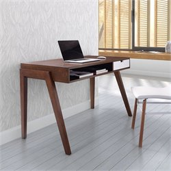 Zuo Linea Desk in Walnut