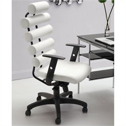 Zuo Unico Office Chair in White