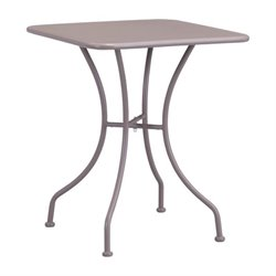 Zuo Oz Patio Dining Table in Taupe