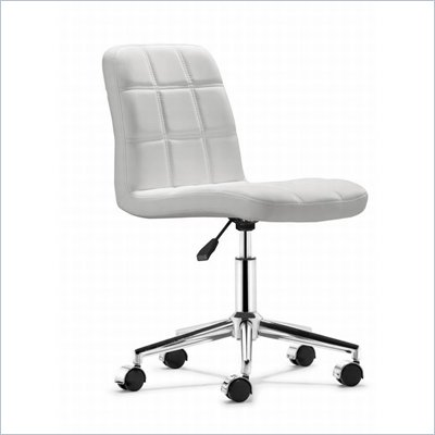 Zuo Agent Office Chair in White