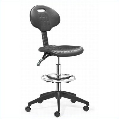Zuo Ark Drafters Chair in Black