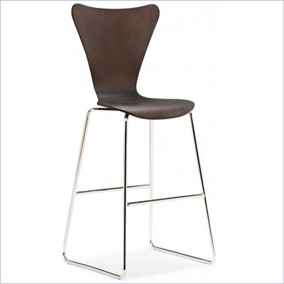 Zuo Taffy Barstool (multiple finishes)