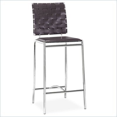 Zuo Criss Cross Counter Stool