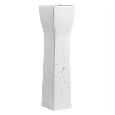 Zuo Barbara Vase Large in White
