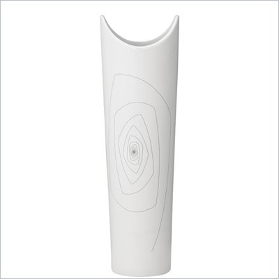 Zuo Becky Vase Large in White