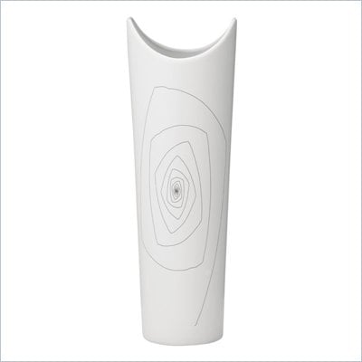 Zuo Becky Vase Small in White