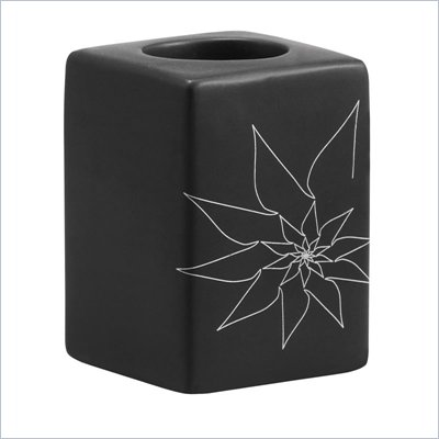 Zuo Blair Single Candle Holder in Black