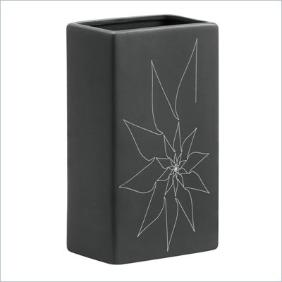 Zuo Blithe Rectangular Vase Small in Gray