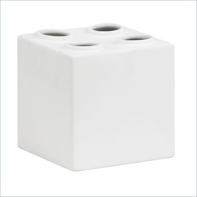 Zuo Bloque Sculpture Double in White