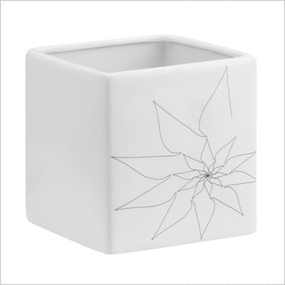 Zuo Brenda Square Vase Large in White