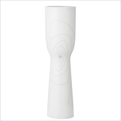 Zuo Brittany Chalice Vase Large in White
