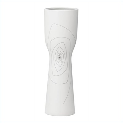 Zuo Brittany Chalice Vase Medium in White