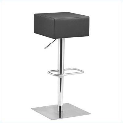 Zuo Butcher Barstool in Black