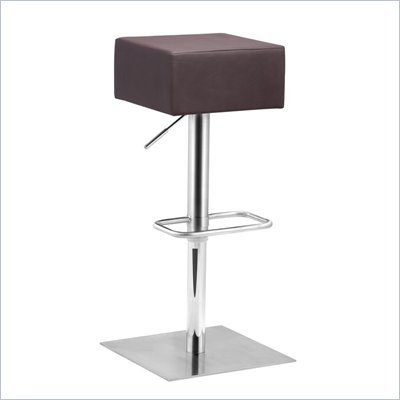 Zuo Butcher Barstool in Brown 