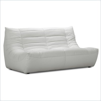 Zuo Carnival Loveseat in White 