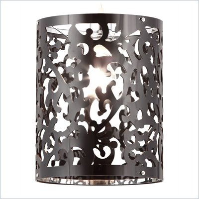 Zuo Casimir Ceiling Lamp in Black