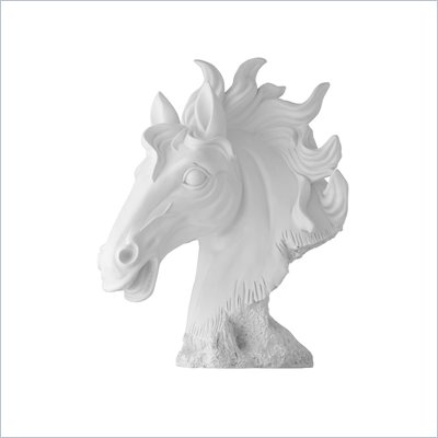 Zuo Coppola Sculpture in Matte White