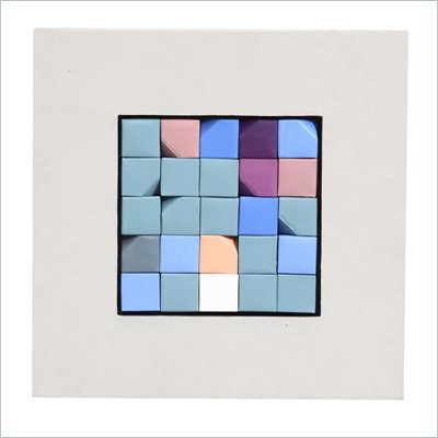 Zuo Crossword  Wall Art White Frame