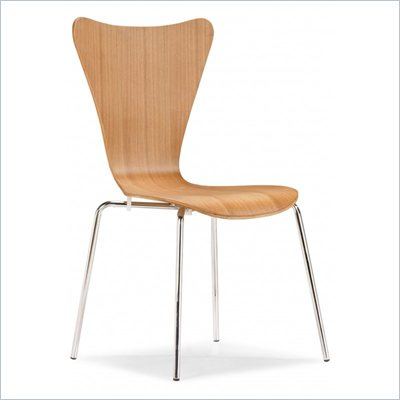 Zuo Taffy Dining Wood Side Chair