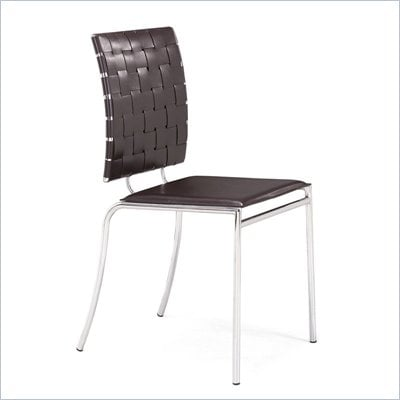 Zuo Criss Cross Dining Side Chair