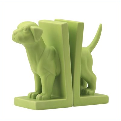 Zuo Feist Bookend in Green