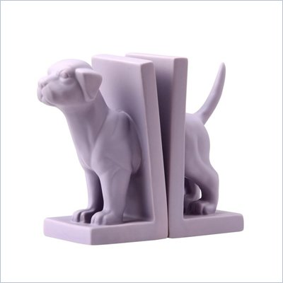 Zuo Feist Bookend in Purple