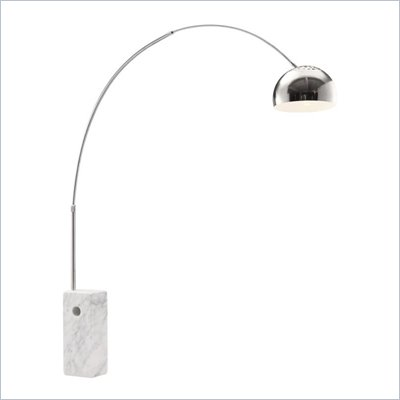 Zuo Ion Floor Lamp in Chrome