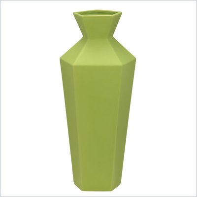 Zuo Ionic Vase in Green