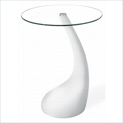 Zuo Jupiter Bistro Table in White (29 Inch Height)