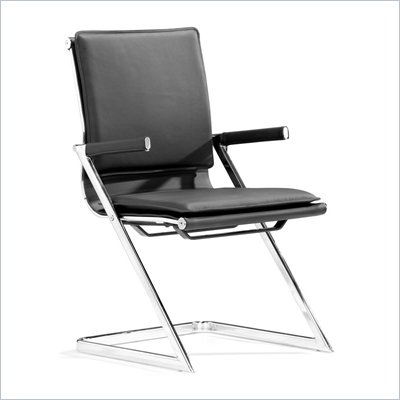 Zuo Lider Plus Conference Chair in Black 