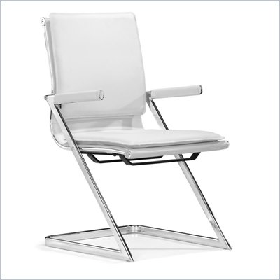 Zuo Lider Plus Conference Chair in White