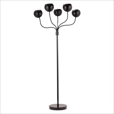 Zuo Luminosity Floor Lamp in Black