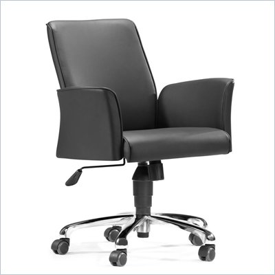 Zuo Metro Office Chair in Black 
