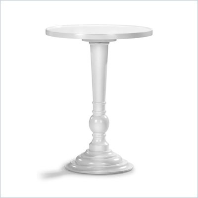 Zuo Mon End Table in White 